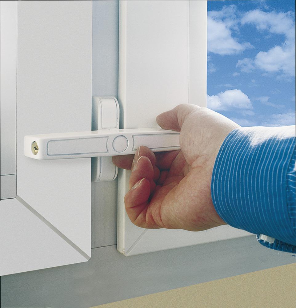 Замок окон и балконных дверей abus 2520 (функция с ключом ци.